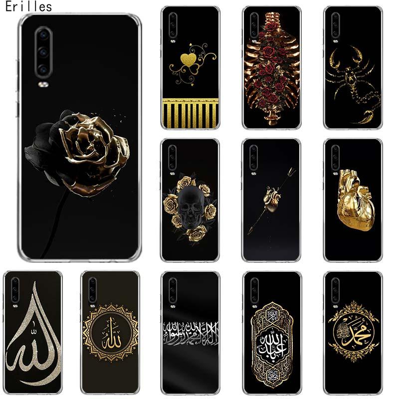 Amor Rosa corazón para Huawei Honor 8 9X 9 9 10 20 Lite 9X 20 Pro 20i 20S V20 Y6 Y5 2019 suave Covera teléfono caso Capa Shell Covera B
