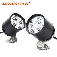 LDDCZENGHUITEC Newest Motorcycle LED Headlight spotlight 1200lm Super bright LED light DC9-32v Decorative lamp light