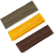 New Flat Hairbands For Girls Women  Fashion Outlook Headbans New Solid Hair Accessories Simple Cotto