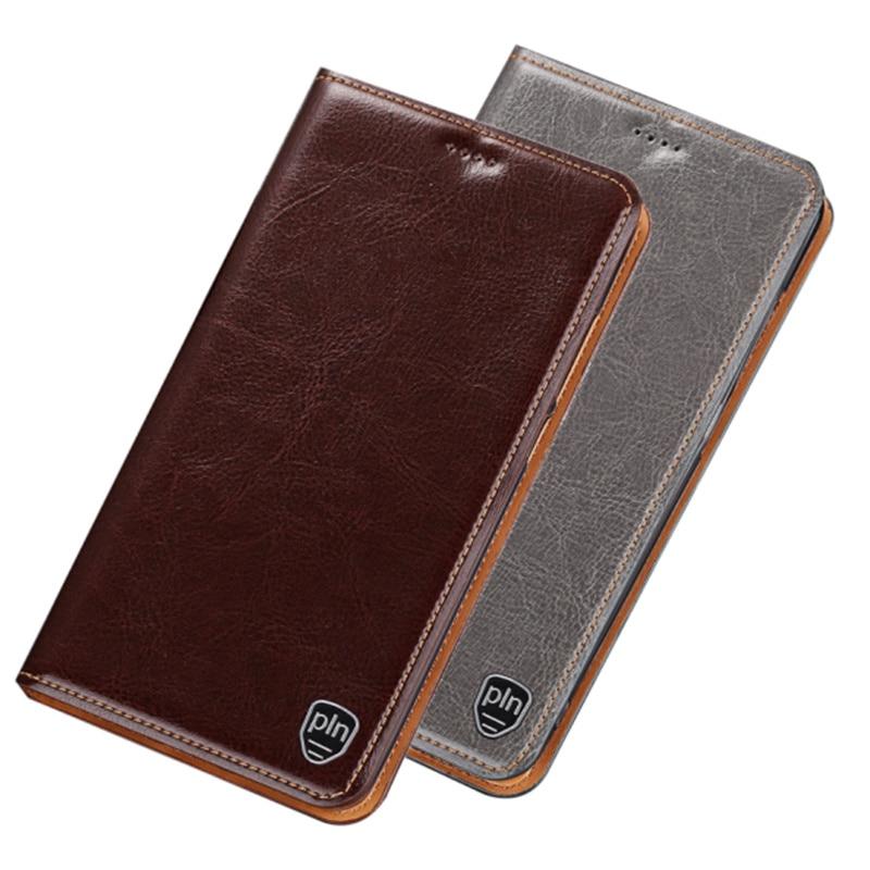 Funda con tapa Bussiness, bolsa de cuero Teléfono genuino para BlackBerry KEYone DTEK70, funda con tapa, tarjetero para Blackberry Key2, funda para teléfono