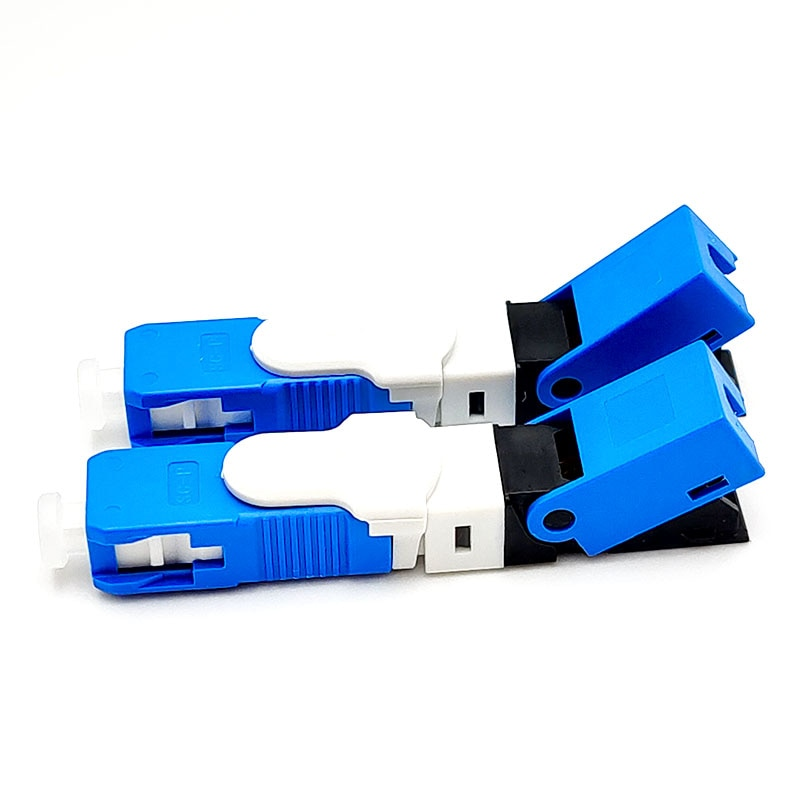 10 pcs/Bag FASO ESC250D UPC Special Fast Connector  , FTTH Fiber Optic High Precision SC/UPC Quick Connector enlarge
