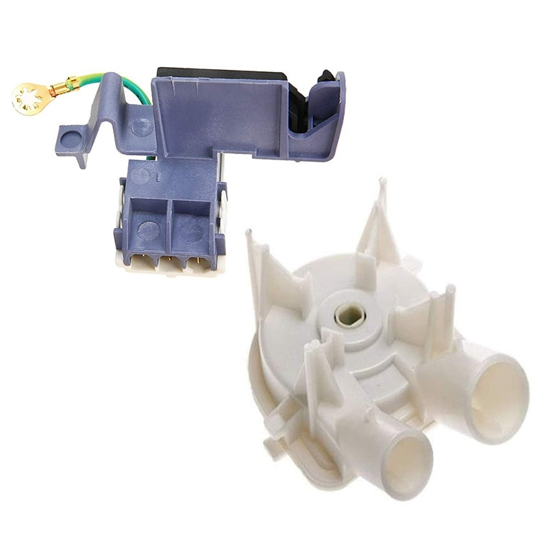 Venda superior máquina de lavar roupa capa interruptor 8559331 lavadora dreno bomba com 8318084 lavadora tampa interruptor 3 pinos roper arruela para hidromassagem