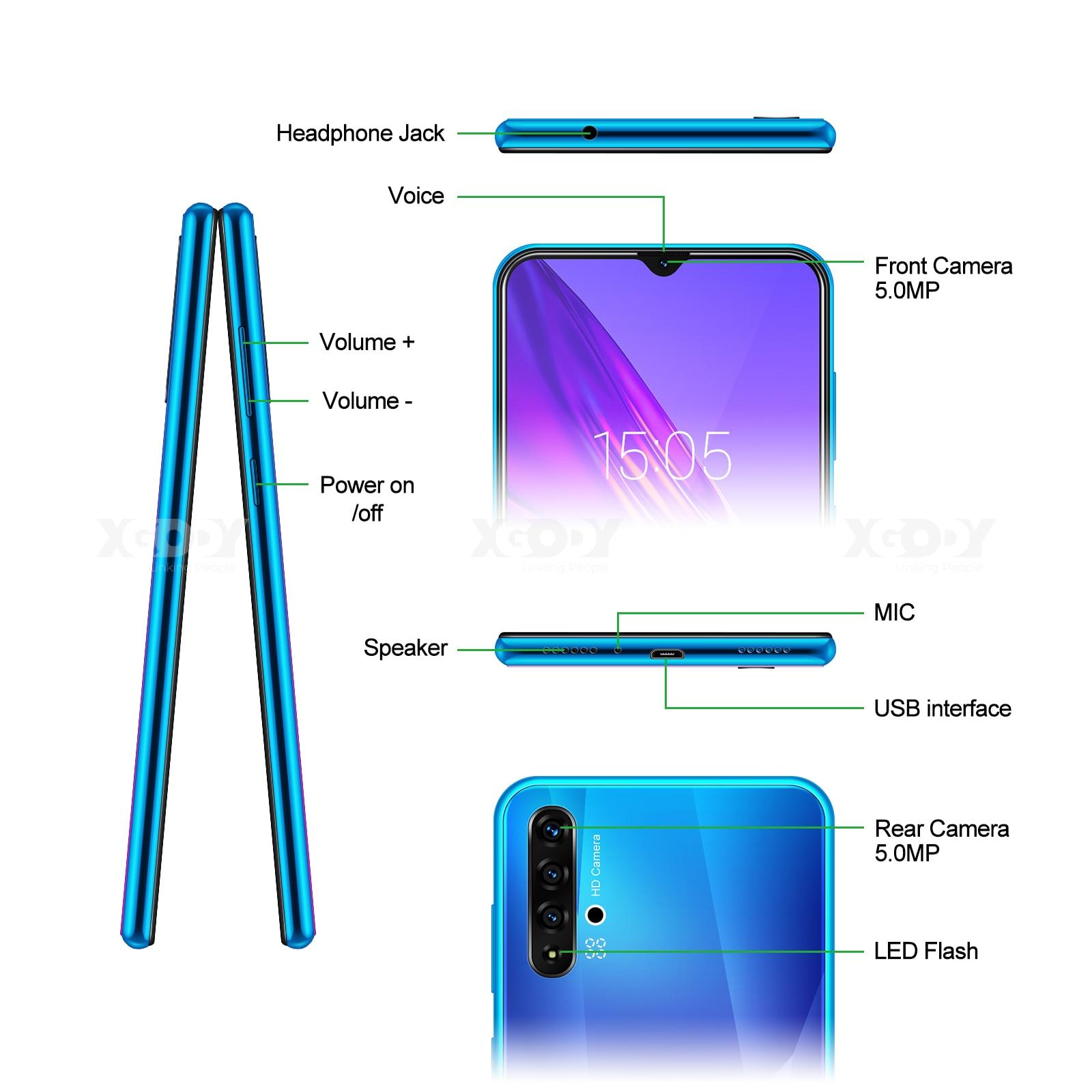 XGODY A50 3G Smartphone 6.5