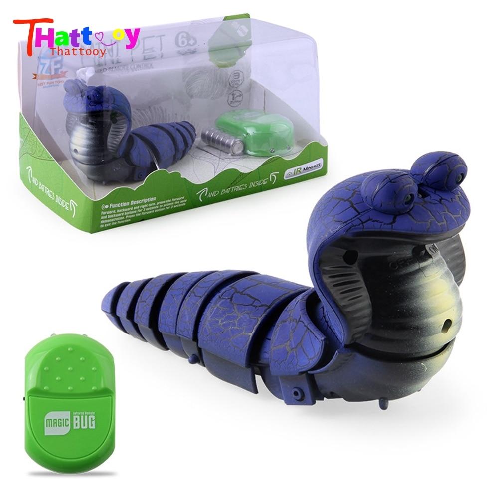 Kid Gift Infrared Remote Control Snake Animal Model RC Toy Children Prank Prop Intelligence Develop Toys For Child enlarge