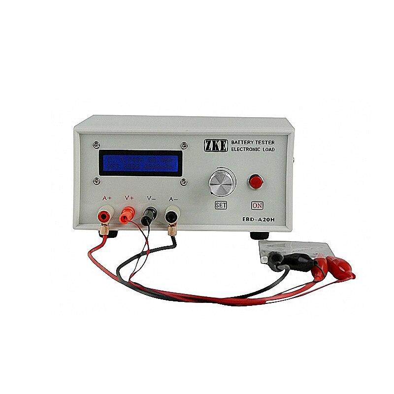 Тестер емкости батареи электронный тестер нагрузки измеритель расхода 20A