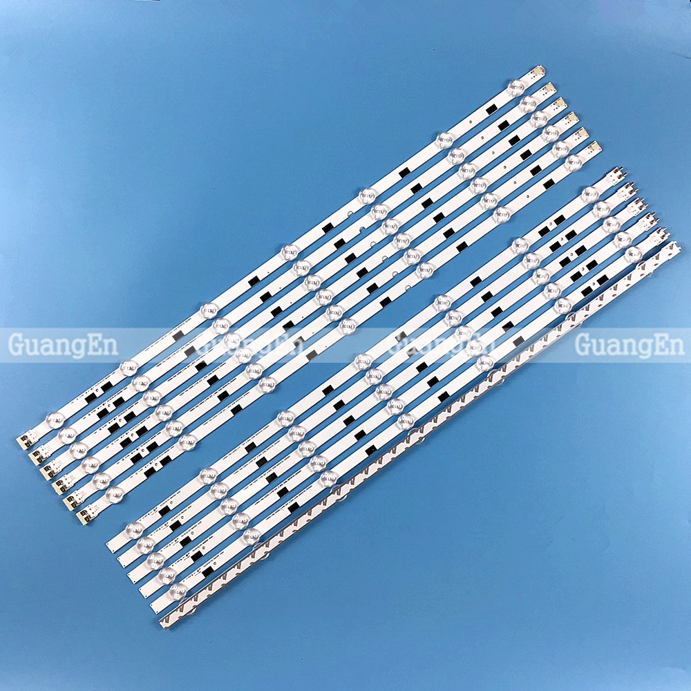 جديد LED قطاع ل سامسونج UA58H5288 2014SVS58_MEGA_3228_L_7LED R_7LED LM41-00091F LM41-00091G UE58J5200 BN96-32771A BN96-32772A