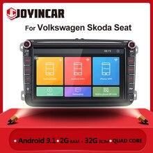 2 din rádio do carro android para vw volkswagen skoda assento octavia golf 5 6 touran passat b6 polo carro estéreo multimídia jogador gps bt