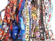 Lanières de sangle de cou de bande dessinée mixte porte-Badge accessoire de chaîne porte-clés pendentif de corde