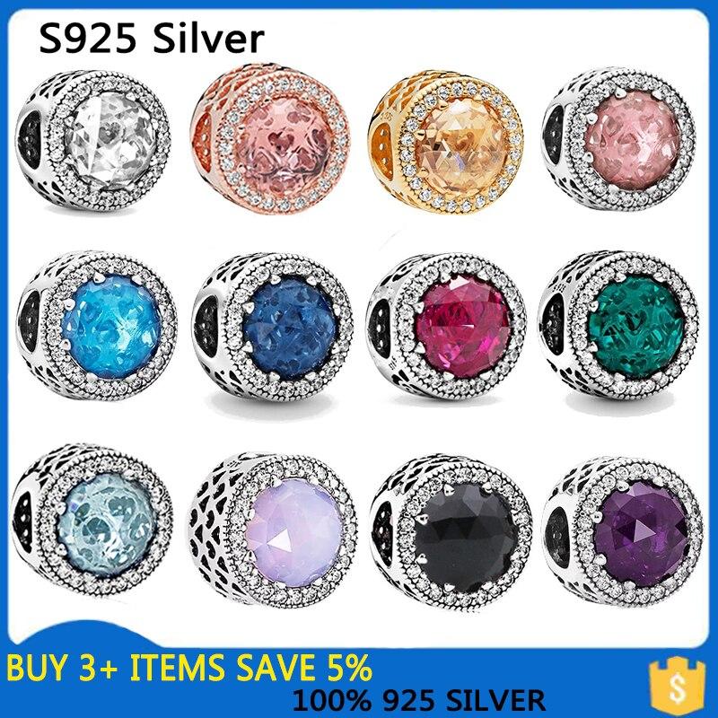 2020 New Christmas Snow Elk Christmas Tree Beads fit Original Pandora Charms Silver 925 Bracelet DIY Women Jewelry Berloque