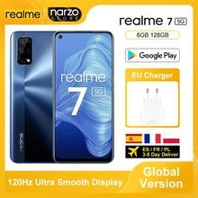 Global Version Realme 7 5G Smartphone 6GB 128GB Dimensity 800U 6.5 Inch 120Hz Display 48MP Quad Came
