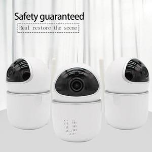 YCC365 Small U Smart WiFi Camera Remote 355° Monitoring 1080p HD Follow Human Detect Baby Detect Mobile Alarm Warning