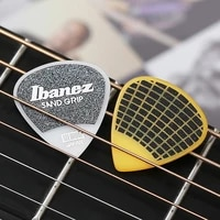 ibanez grip wizard series sand grip plectrum electric acoustic guitar pick 1piece made in japan