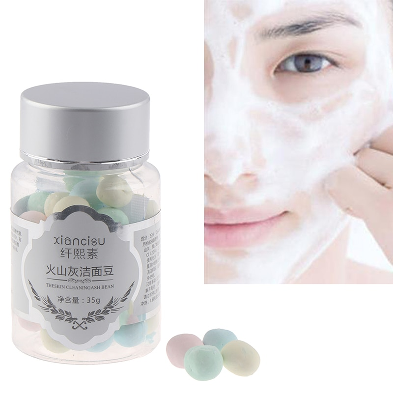 Hot Sales Face Washing Product Amino Acid Deep Cleansing Oil Control Moisturizing Volcanic Magma Bea