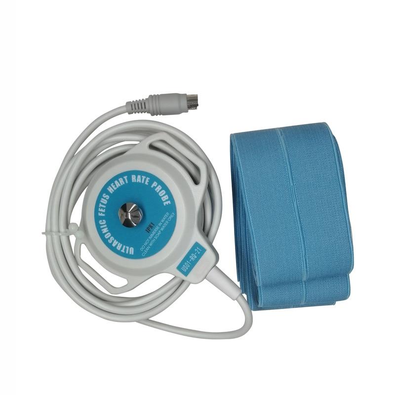 قابلة لإعادة الاستخدام الطبية الجنين محول بالموجات فوق الصوتية الولايات المتحدة التحقيق 6 دبوس ميدي ل Bistos BT300 BT330 نظام جهاز مراقبة الجنين