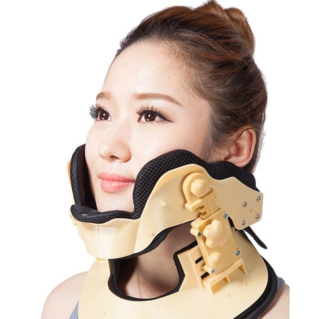 Medical Cervical Vertebra Tractor Neck Support Brace Traction Treatment for Neck Pain Spondylosis Correct Cervical Collar