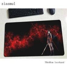 akame ga kill mousepad 700x400x3mm gaming mouse pad gamer mat wrist rest game computer desk padmouse keyboard anime play mats