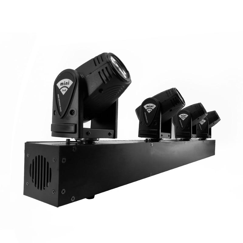 4x10W رئيس LED شعاع يتحرك رئيس الإضاءة بار DJ أضواء ، SHEHDS مرحلة الإضاءة البسيطة 10W RGBW 4in1 شعاع تأثير قيثارة
