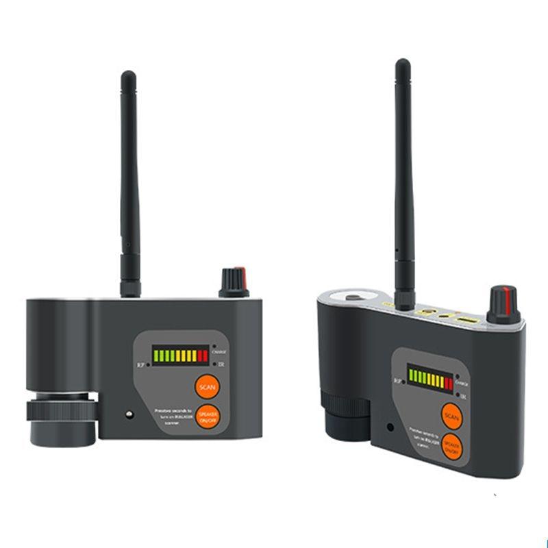 Лазерный инфракрасный сканирующий детектор, антишпионский Радиочастотный детектор, лазерная камера GSM Wi-Fi, обнаружение сигнала, объектив, ф...