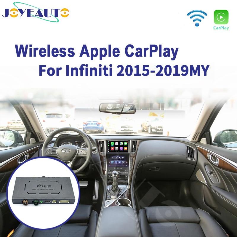 Joyeauto беспроводной Apple Carplay для infiniti 8-дюймовый экран 2015-2019 Q50 Q60 Q50L QX50 Android авто зеркало Wifi автомобиль играть Airplay