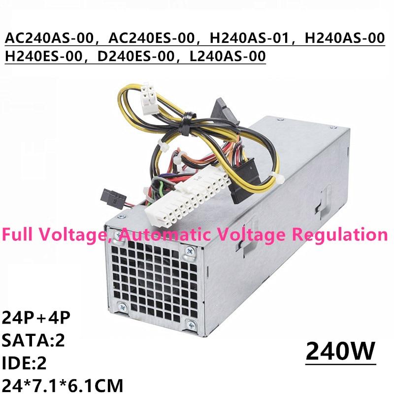 New PSU For Dell OptiPlex 390 790 990 3010 7010 9010 SFF  Power Supply 3WN11 L240AS-00 TXYM H240AS-00 01 AC240AS-00/01 H240ES-00