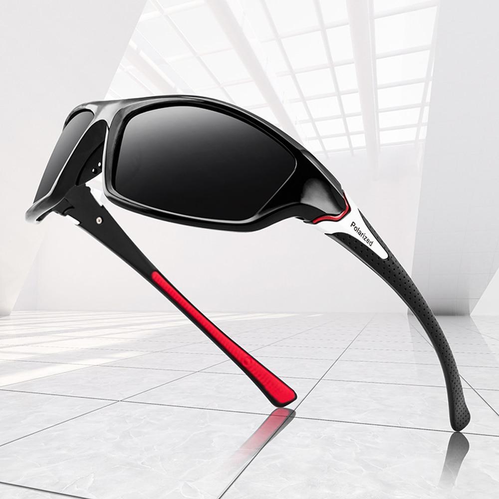 2021 UV400 Polarised Driving Sun Glasses for Men Polarized Stylish Sunglasses Male Goggle Eyewears