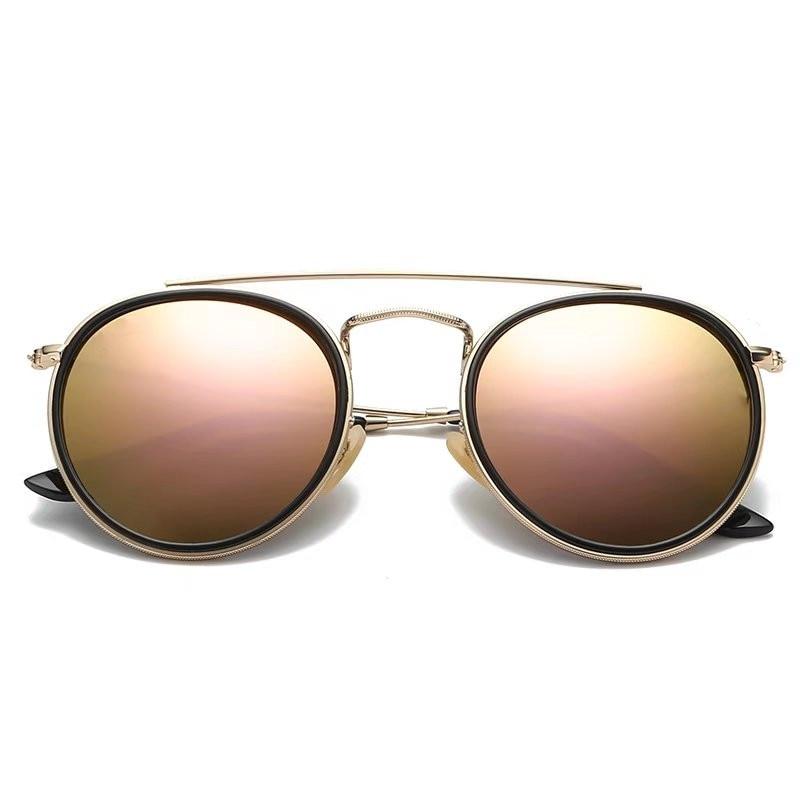 2021 High Quality Women Luxury Gradient Lenses Sunglasses Men Cool Leisure Vintage Sunglasses Designer Brand With Original Box