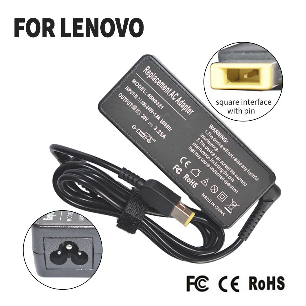 65 w 20 v 3.25a substituição universal ac adaptador carregador de bateria para lenovo yoga 11 13 m490 g500 g505 g405 g500s adaptador de energia