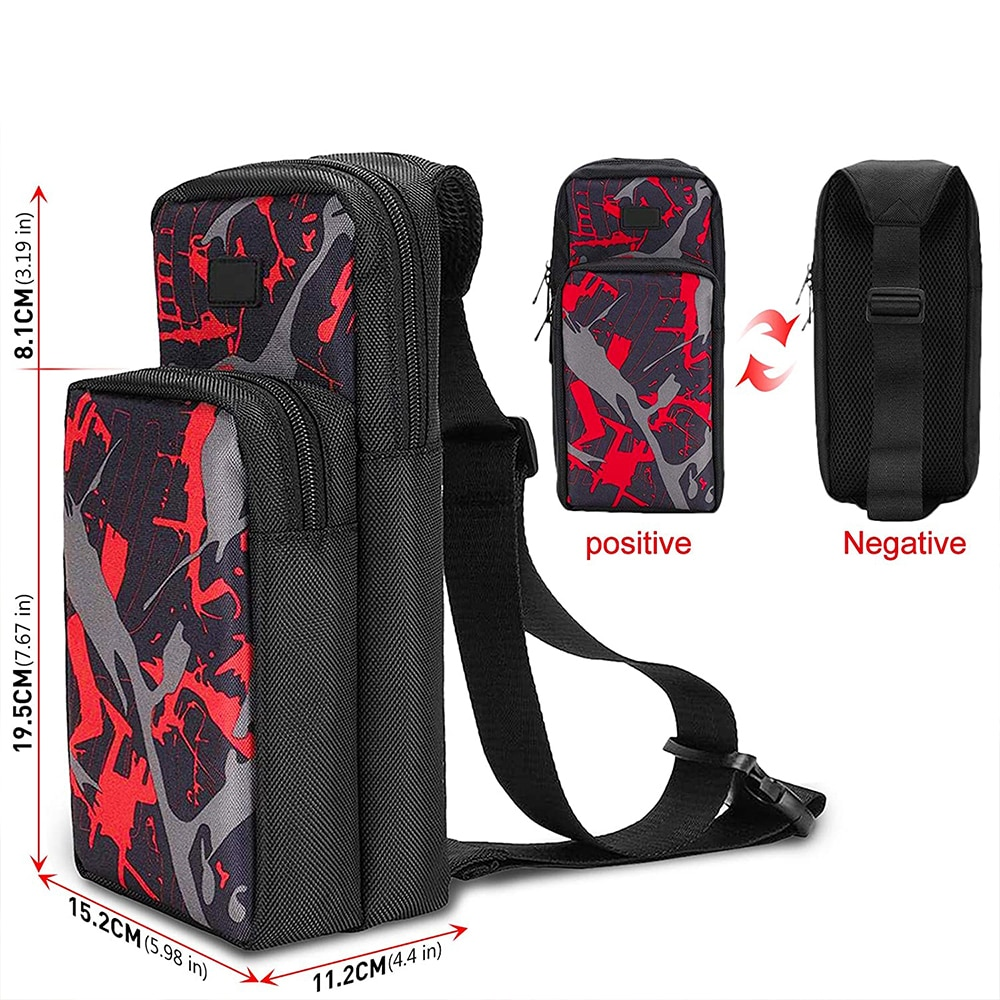 Portable Travel Carrying Case for Nintendo Switch, Durable Shoulder Storage Bag Fashion Backpack for Switch/Switch Lite OLED