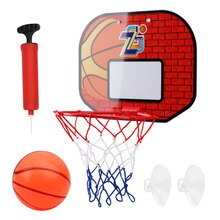 Basketball Board Box Set Backboard Hoop Mini Children Indoor Sports Ball Game for Outdoor Exercise S