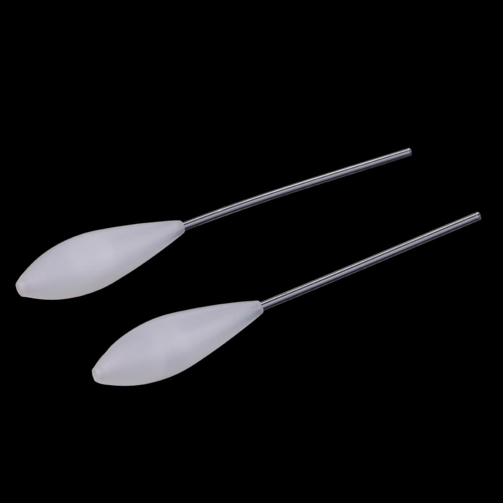 2 peças flutuantes bombarda sbirolino fly pesca casting float 5.7g - 12.6g
