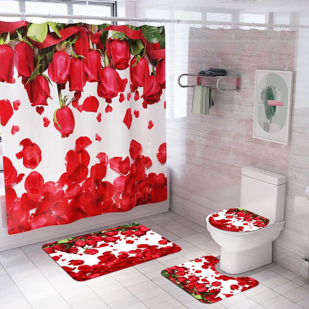 Cortina De ducha, cortina De baño, Douchegordijn Rideau De Douche Duschvorhang, conjunto De cortinas De ducha, baño showe # W