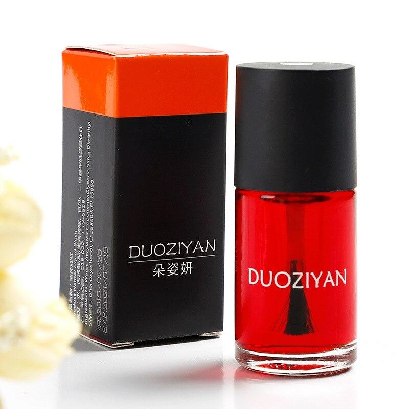 Liquid Blush Make up Moisturizing Waterproof Brighten Skin Color Face Blusher/liquid Lipstick Cosmetics d1 недорого