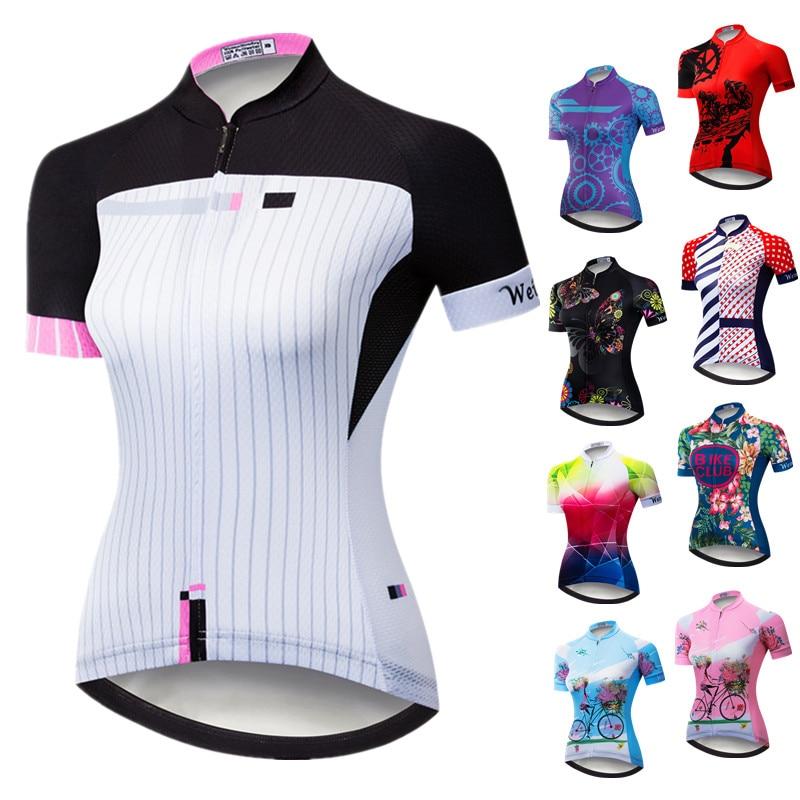 Weimostar-Camiseta de manga corta para Ciclismo para mujer, Ropa transpirable para Ciclismo...