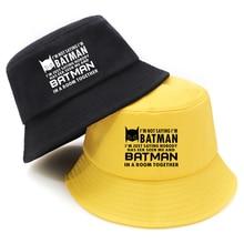 Batman pliable homme seau chapeau Harajuku pêcheur chapeaux femmes automne k-pop casquette de pêche mode chaude pliant Gorra Hombre 2020