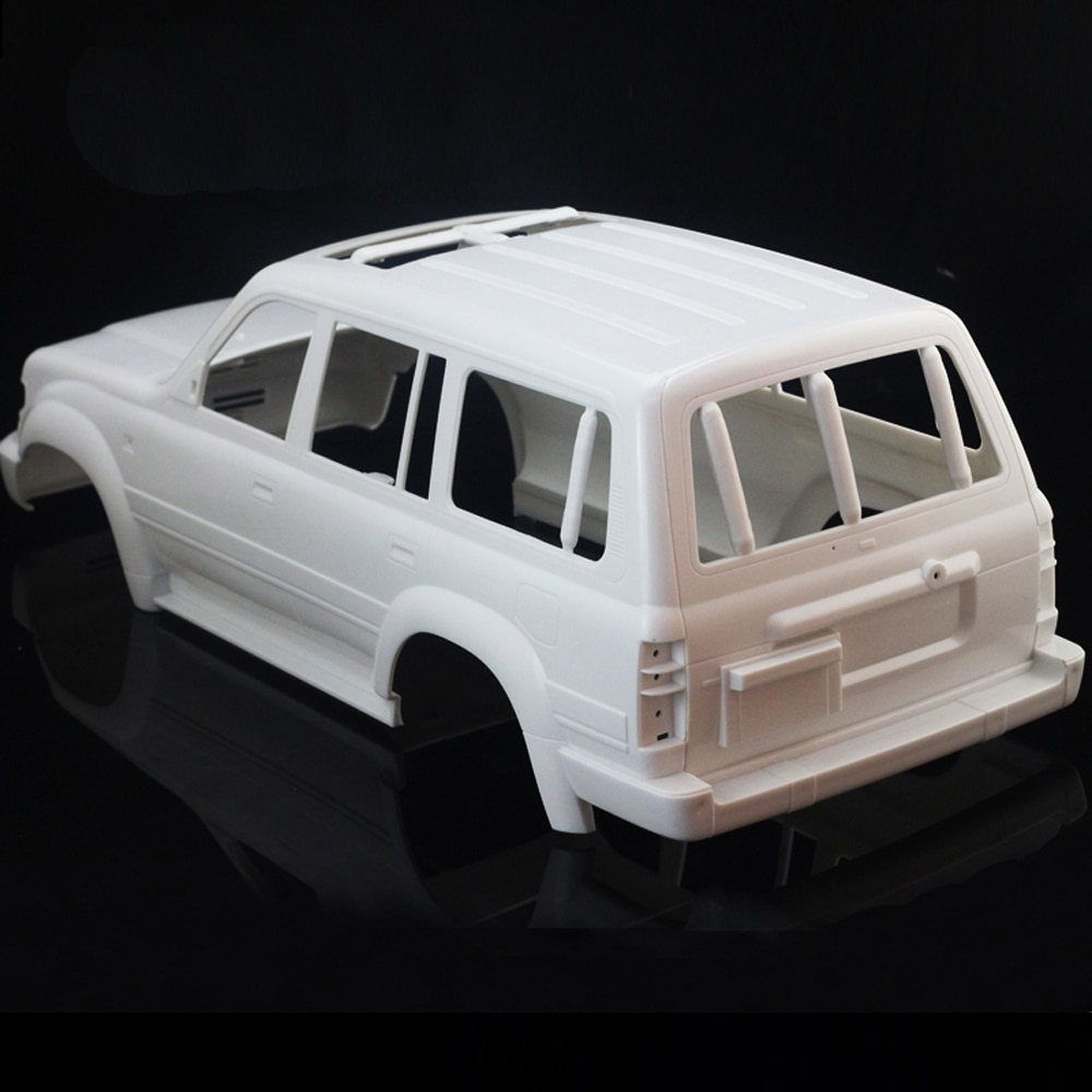 1/10 Land Cruiser LC80 HARD Plastic Body Shell 313MM Wheelbase for 1:10 Axial SCX10 Rc Crawler Truck enlarge