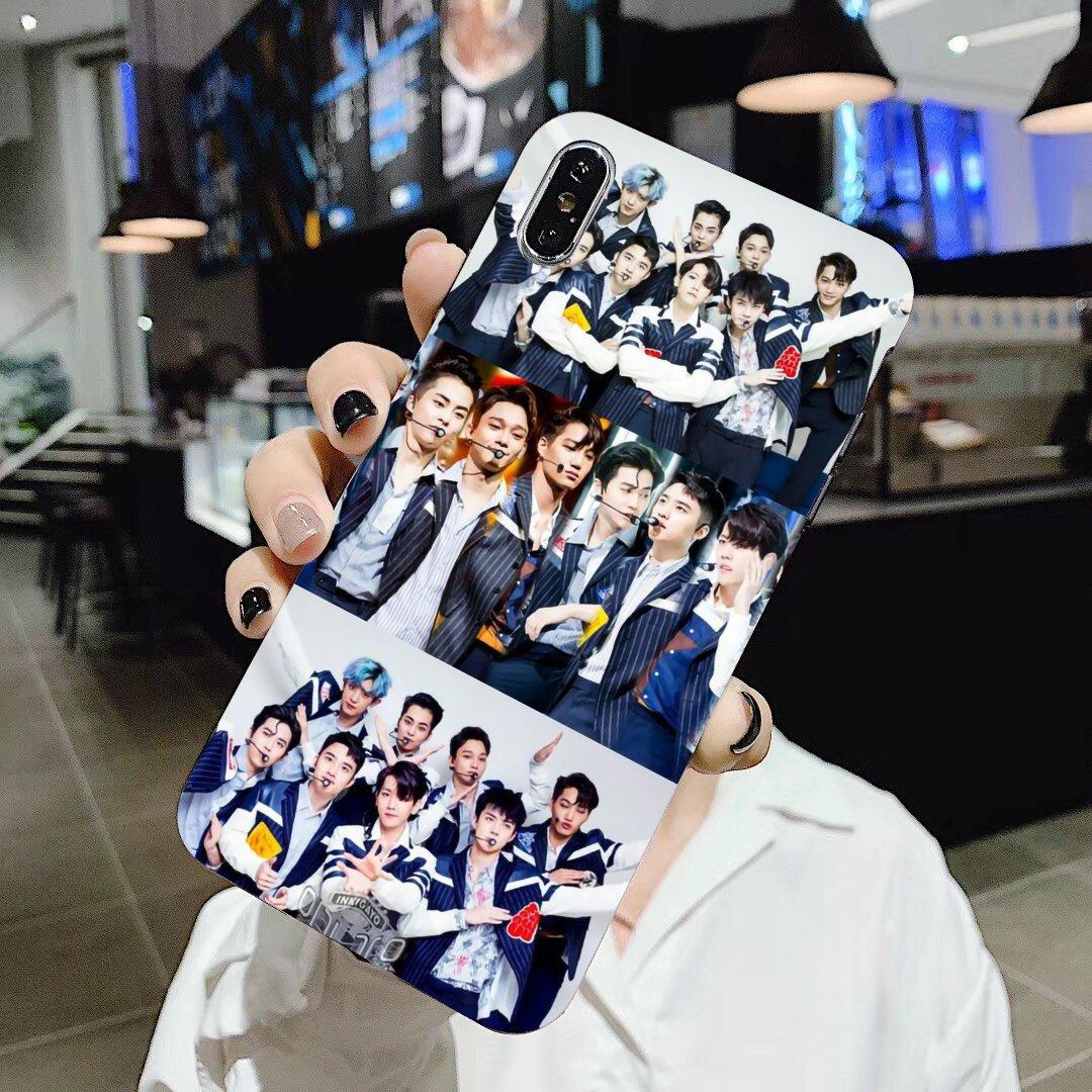 Funda de silicona XO band k-pop para Huawei G7, G8, P7, P8, P9, P10, P20, P30 Lite Mini Pro P Smart 2017, 2018 y 2019