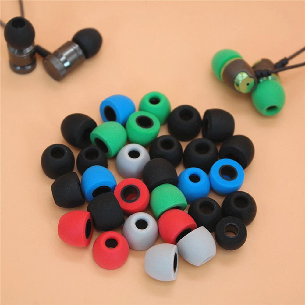 4 Uds 4,9mm/5,5mm lento aumento de la memoria de reemplazo de espuma en la oreja los auriculares consejos almohadillas