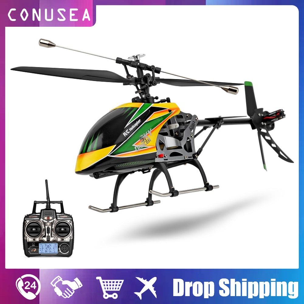 Wltoys V912 Rc Helicopter Brushless Motor Remote Control Airplane Aircraft Rc Quadcopter Drone 4Ch 2