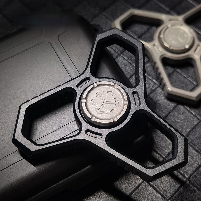 Matrix T04 Tactical Fingertip Gyro Multifunctional EDC Finger Lock Legal Self-Defense Non-Metal Handle Toy