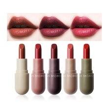5pcs/set Matte Lipstick Set Long Lasting Waterproof Makeup Korean Lipstick Tint Lip Gloss Nude Red Lip Stick Cosmetic Maquillaje