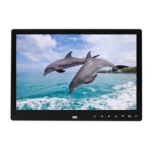 Цифровая фоторамка 12 дюймов, электронная цифровая фоторамка, IPS дисплей с IPS LCD 1080P MP3 MP4 видео плеер