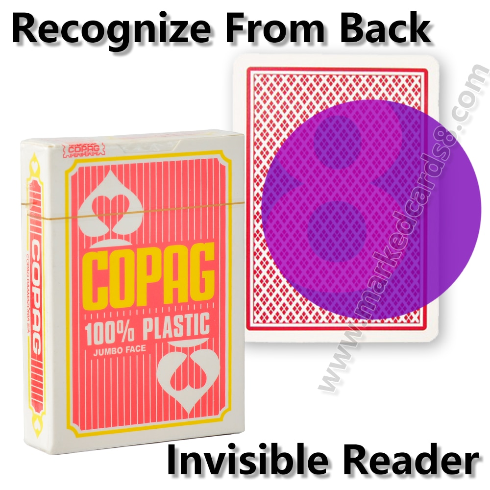 Фото - Copag Marked Playing Cards for Infrared Contact Lenses Invisible Ink Magic Mark Card Board Game Anti Cheating Poker mark harlan winning at internet poker for dummies