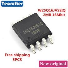 5 uds W25Q16JVSSIQ 25Q16JVSIQ 2MB 16Mbit 25Q16 W25Q16 SOIC8 SPI ni FLASH envío gratis