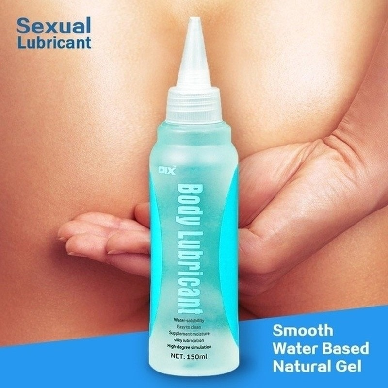 150ml Water Based Personal Lubricant Vaginal Clitoris Sexual Lubricant Oil for Women Butt Anal Massage Gay Sex Lube for Couple