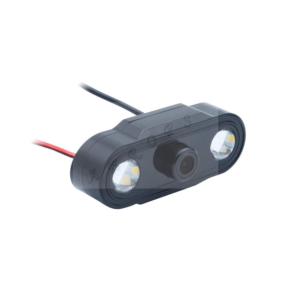 Cámara Digital Aerops Skydroid HD con LED, para mando a distancia T10 T12, receptor transmisor FPV