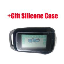 A94 LCD Remote Control + Gift Silicone Case for Starline a94 Two Way car alarm system