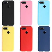 Soft Case For Xiaomi Mi 8 Lite Case Mi8 Lite Cute Candy Pure Phone Cases For Xiaomi Mi 8 Lite 8Lite