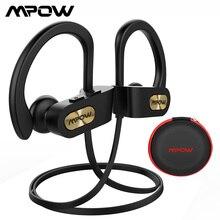 Mpow Flamme Bluetooth 5,0 Kopfhörer Sport Headsets HiFi Stereo Kopfhörer IPX7 Wasserdichte Noise Cancelling Headsets mit Mic Fall