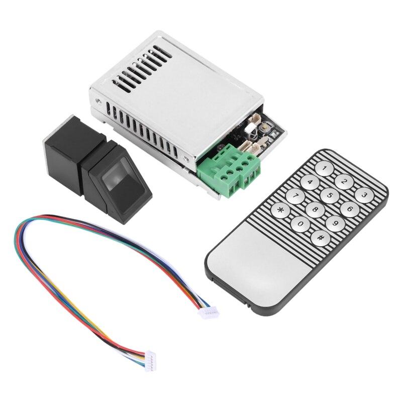 K216 + R307 نظام التحكم في الوصول التعرف على بصمات الأصابع + R307 مستشعر بصمات الأصابع البصرية