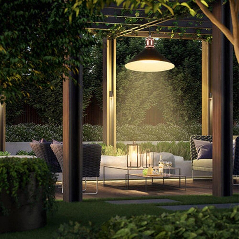 Solar Garden Led Lights Outdoor Waterproof Lamps Gardening Household Indoor Chandelier Balcony Light Super Bright Pavilion Light enlarge